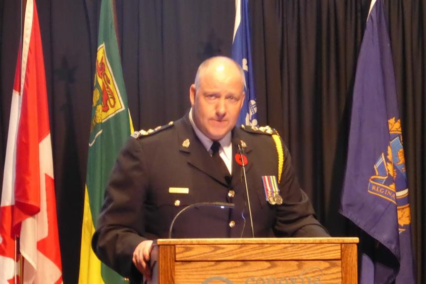 New Regina police chief sworn in