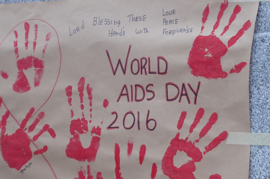 'It is 100 per cent preventable:' World AIDS Day gathering held Regina