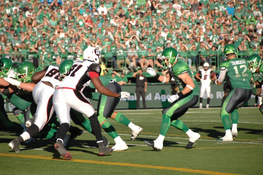 GAME DAY: Riders vs Redblacks week 10 depth chart