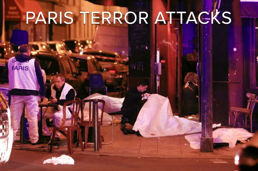 Body count continues to rise following multiple terrorist attacks in Paris