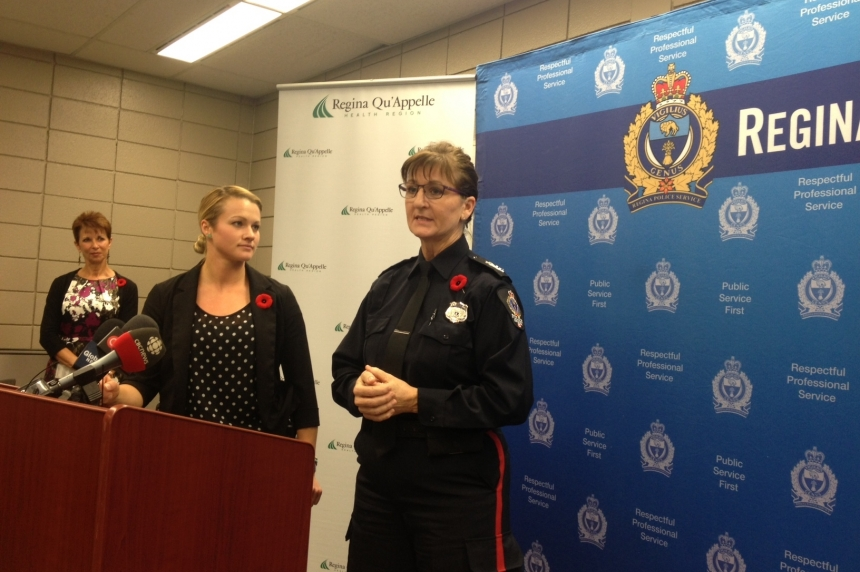 Regina police launch partnership to help people in crisis with mental health and addicitons