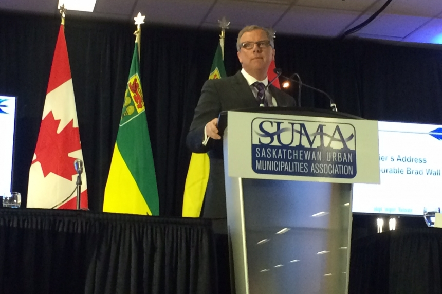 Sask. premier says province will run deficits due to revenue shortfall