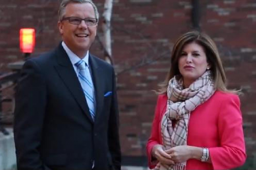 Conservative interim leader Rona Ambrose visits Evraz Steel in Regina