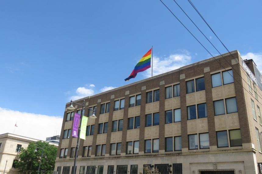 World's 2nd-largest Pride flag flies over Saskatoon