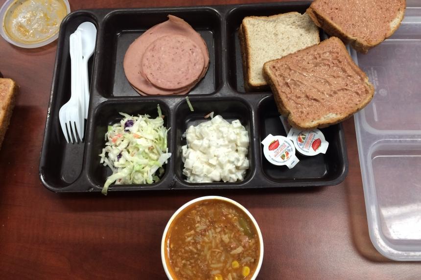 Inmates refuse food trays at Regina Correctional Centre