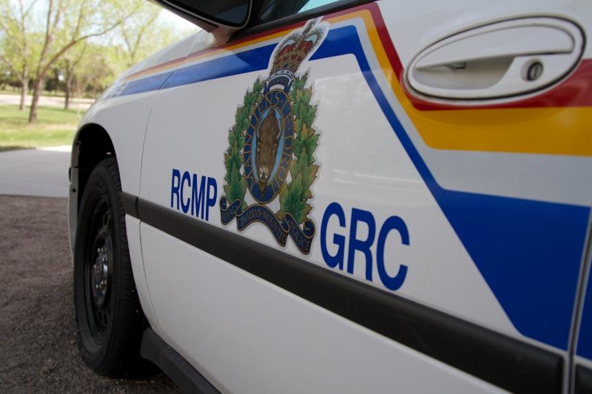 RCMP on scene of crash near Grenfell