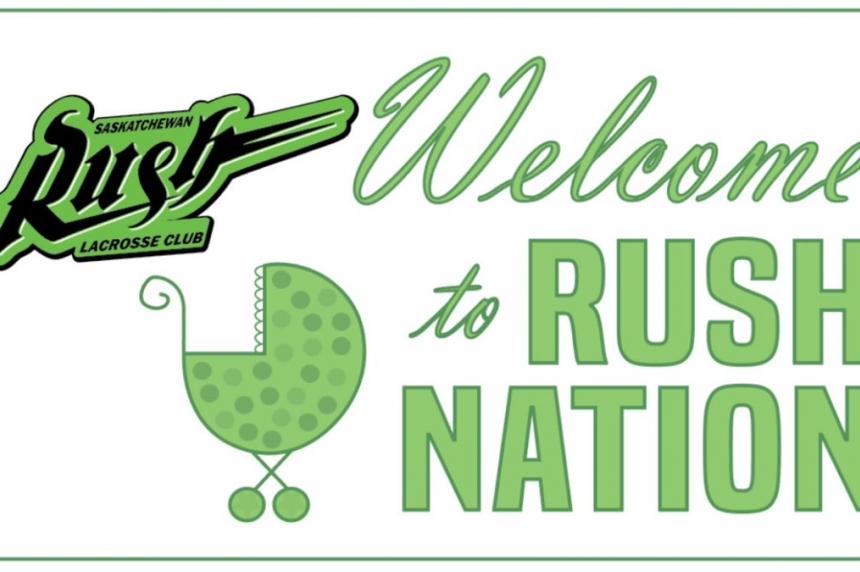 Saskatchewan Rush aim to score big with newborns