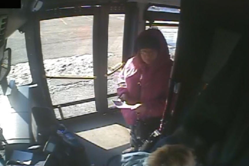 Regina police asking for information about woman in pink coat