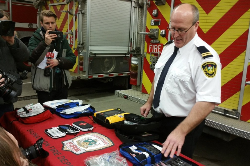 Saskatoon Fire Department prepares for opioid crisis