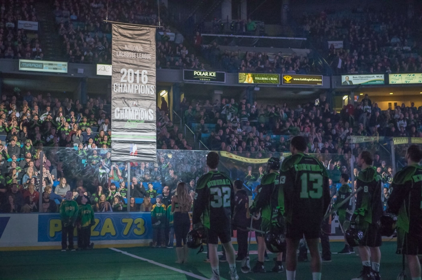 Rush raise banner and roof in home opener victory