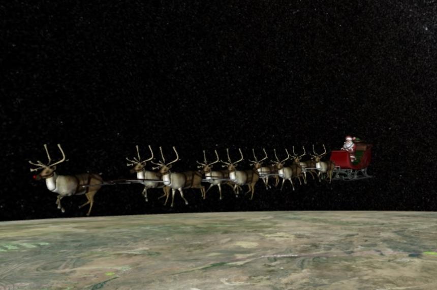 NORAD tracks Santa for 60th year