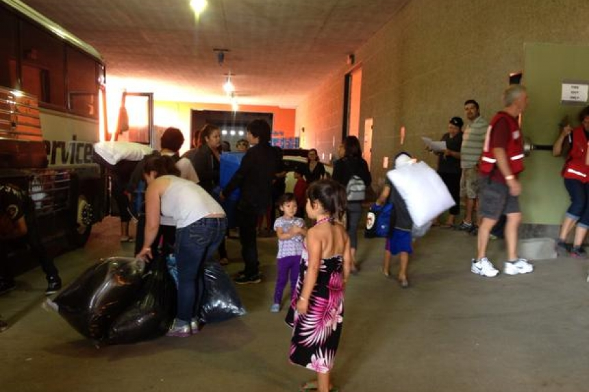 Some evacuees leaving Regina for Saskatoon -- or home