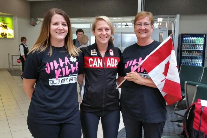 Saskatchewan wrestler returns from Rio