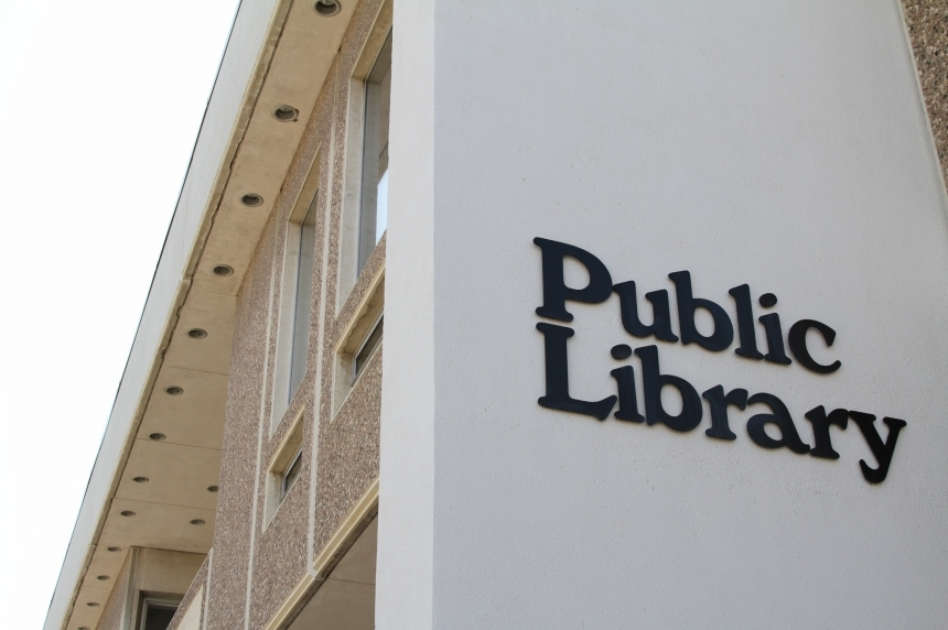 Central library closed due to water main break