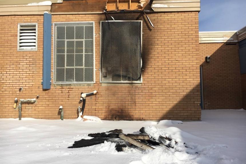 Arson suspected in bin fire at Sutherland School