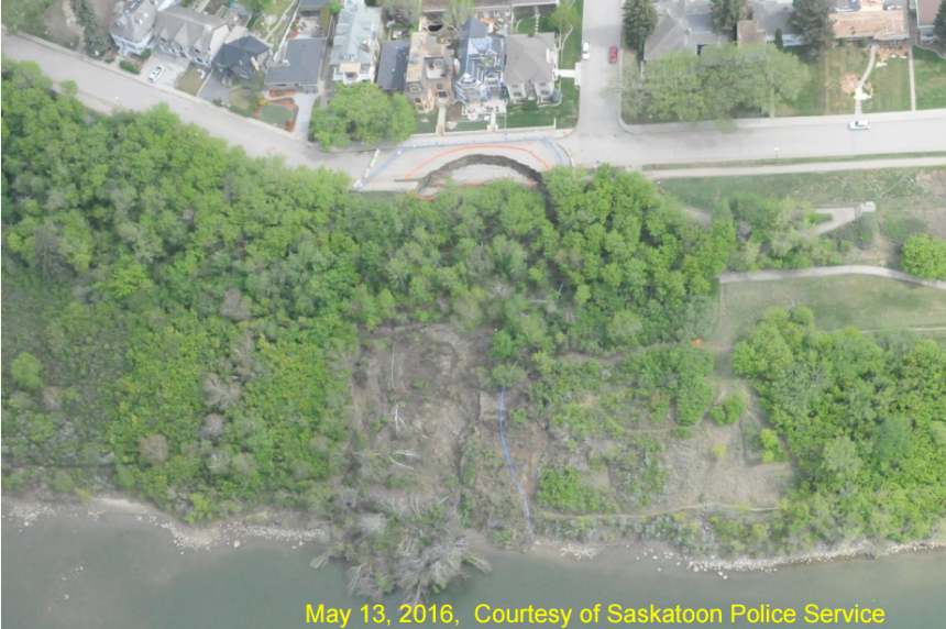 MVA approves city plan to fix slope failure at Sask. Crescent and 16th Street East