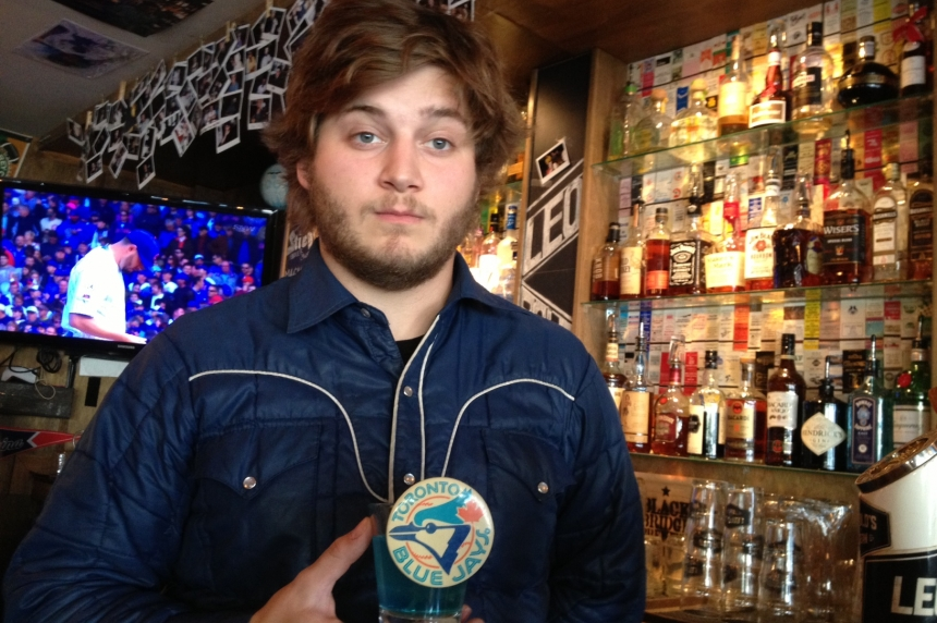 Regina bartender creates 'holy water' for Blue Jays