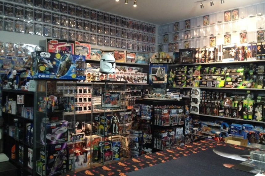 Big collection this is: Moose Jaw man has 24,000 Star Wars collectibles