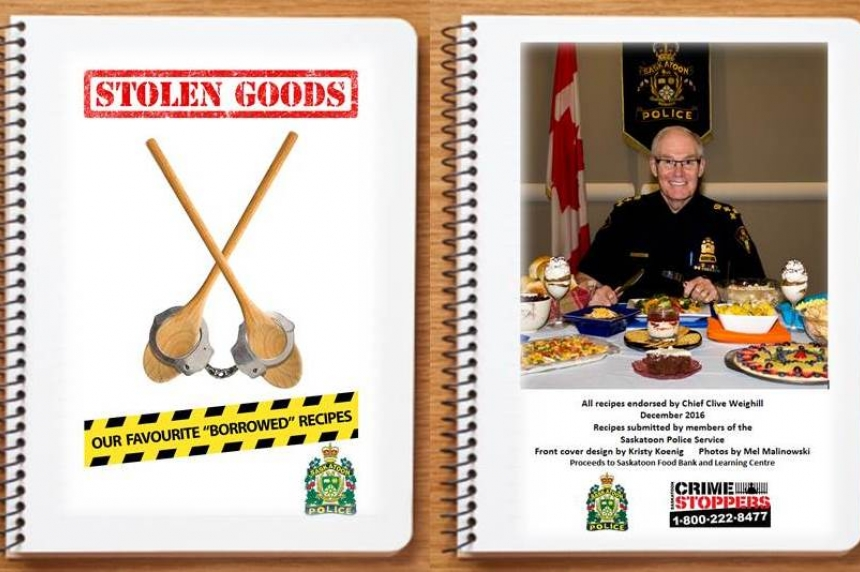 Saskatoon police release holiday cookbook in support of food bank