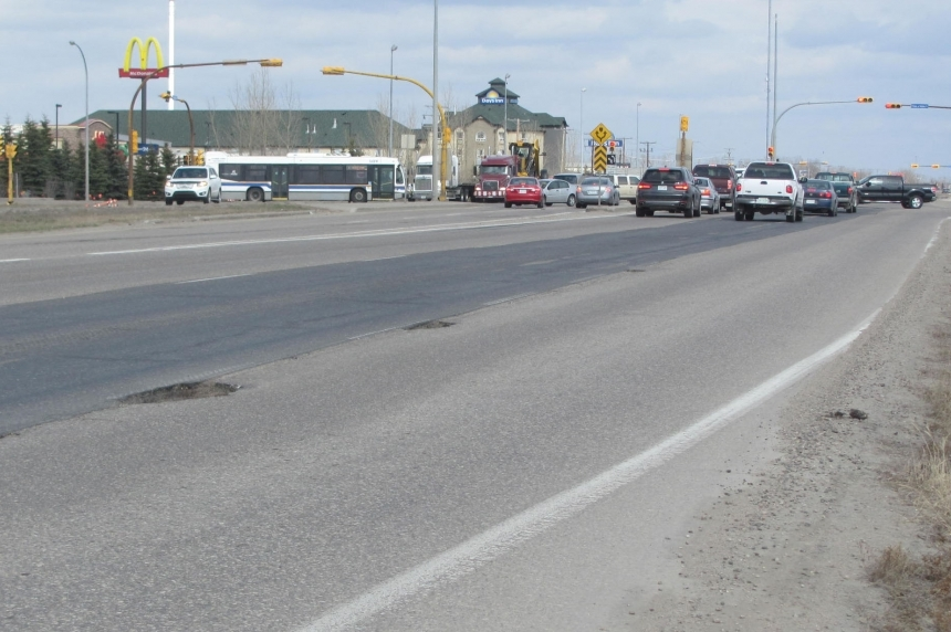 Construction starts sunday on Victoria Ave Ring Road overpass