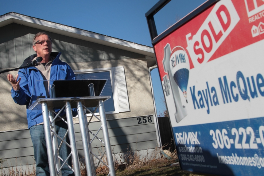 Sask Party promises help for first time home buyers
