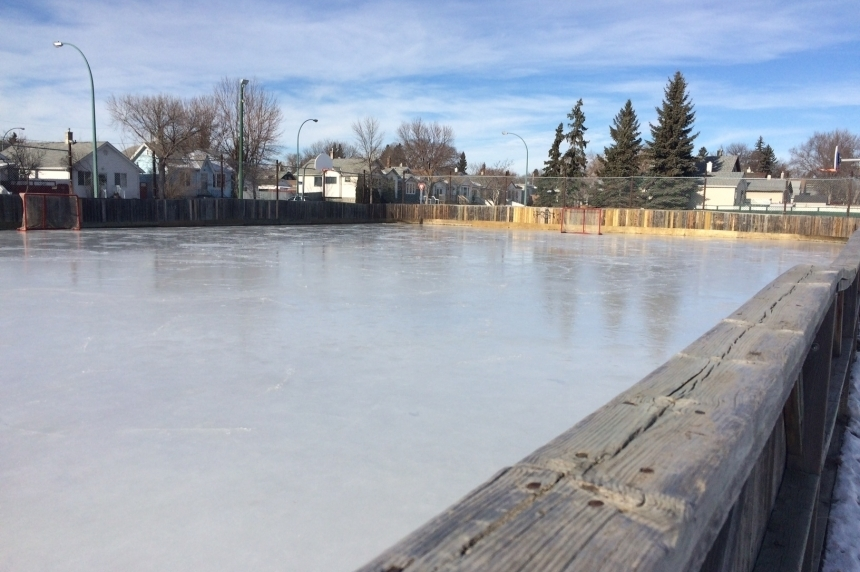 City of Regina opens outdoor rinks