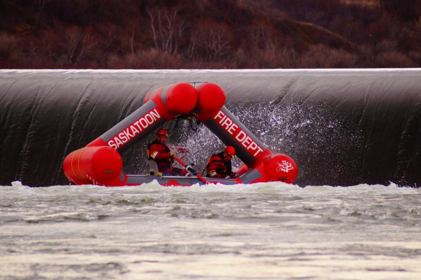 Saskatoon water rescue training to take place at the weir