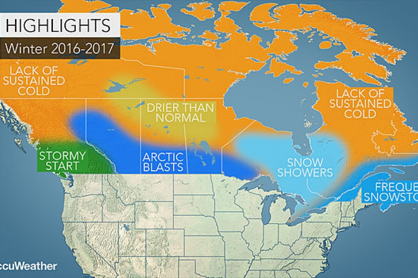 Winter in Saskatchewan set to be colder, last longer