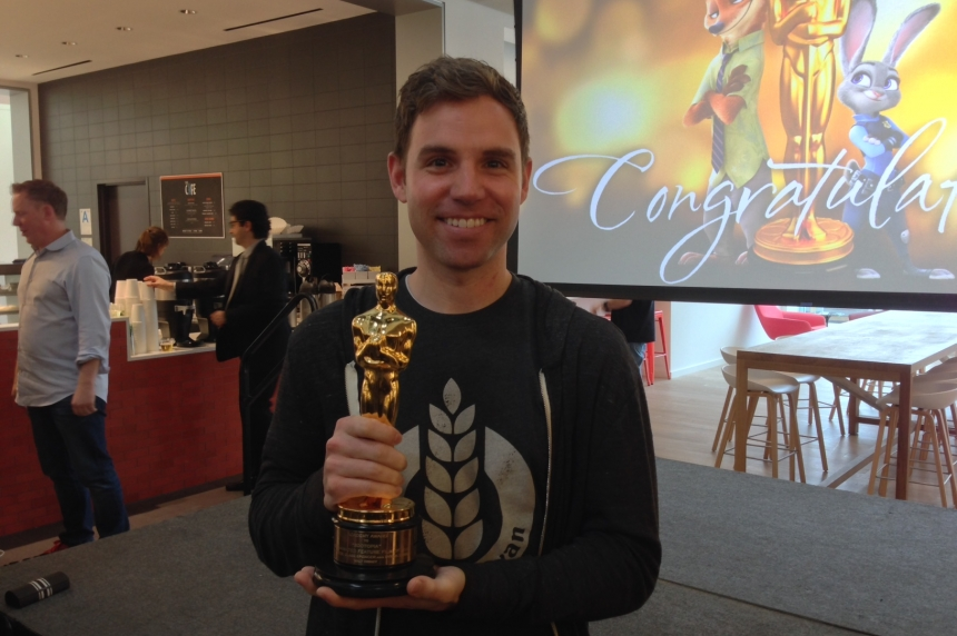 Sask. animator celebrates Oscar win for 'Zootopia'