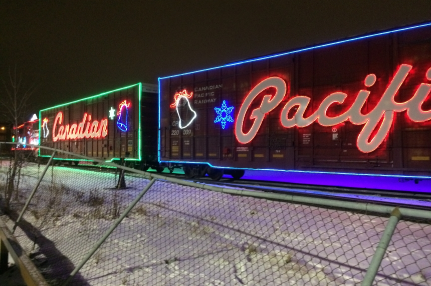 CP Holiday Train rolls into Regina, Moose Jaw