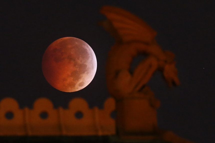 Eclipse of Super Harvest Moon will be visible around 8 pm