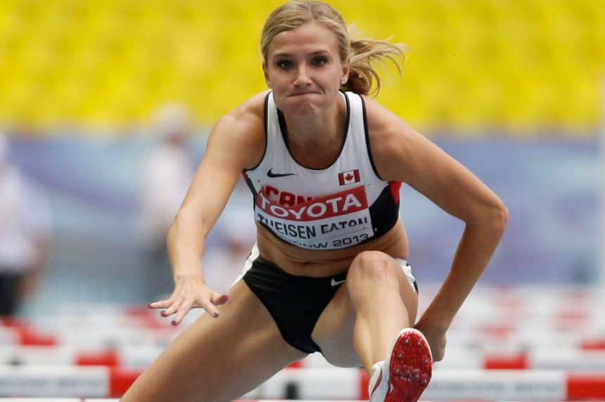 Brianne Theisen-Eaton stops in Saskatoon this Sunday