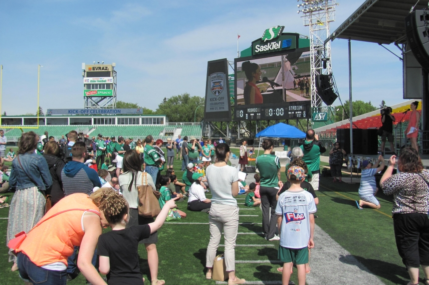 Farewell celebrations begin for the old Mosaic Stadium
