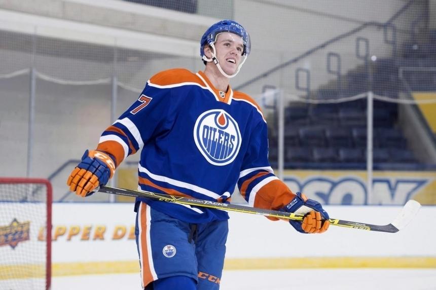 McDavid picks up third pre-season point as Oilers down Wild 3-0