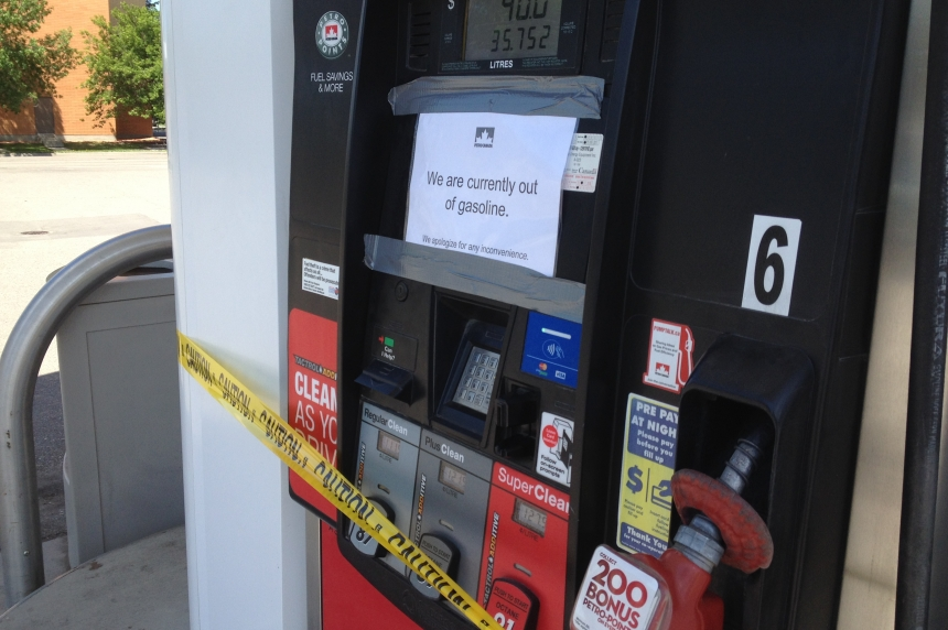 Some Regina Petro-Canada stations run out of fuel