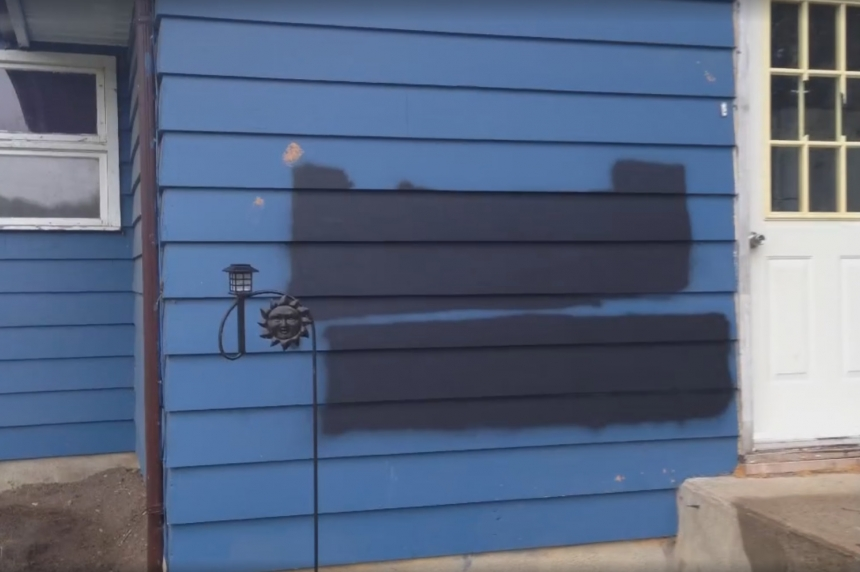 House in Mankota, Sask. vandalized with racial slurs