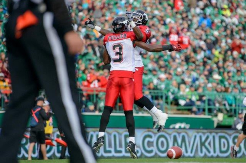 Mistakes sink Riders in 34-31 loss to Calgary