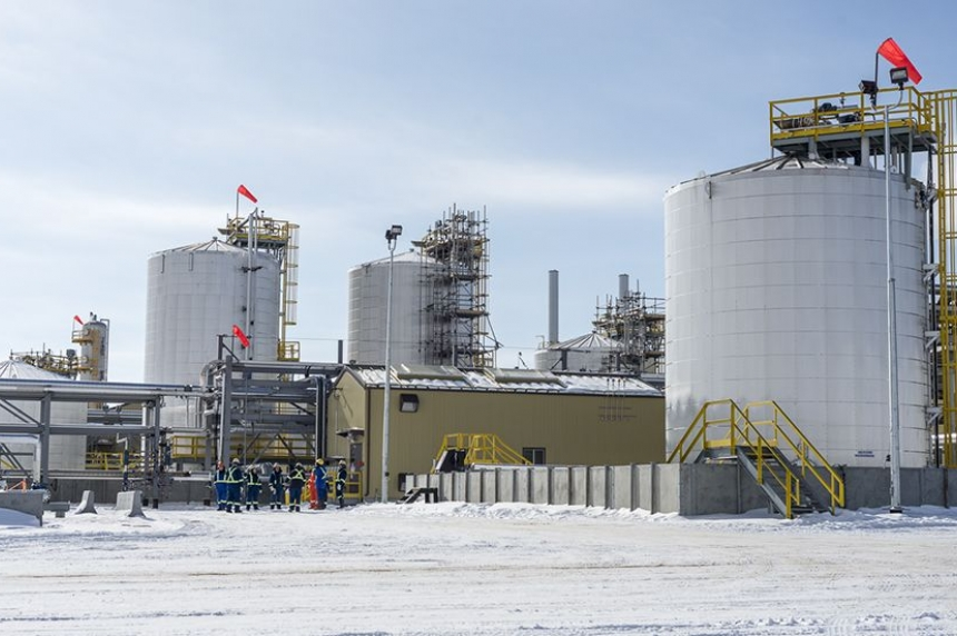 Husky Energy opens new oil thermal plant in Edam, Sask.