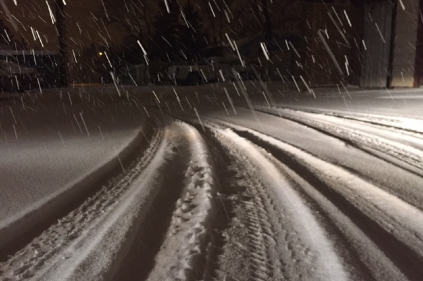 Another system on the way after Alberta Clipper brings snow, winds to Sask.