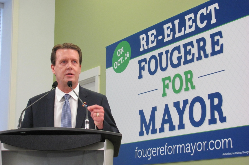Michael Fougere re-elected as Regina's mayor