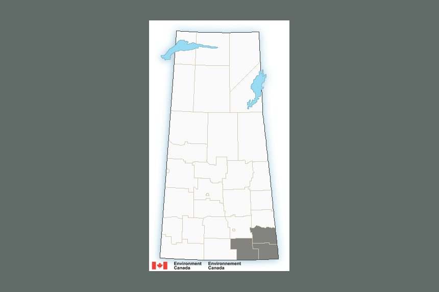 Heavy snowfall, blowing snow on way to southeast Sask. on Christmas Day