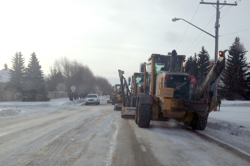 City of Regina saving money for a snowy day