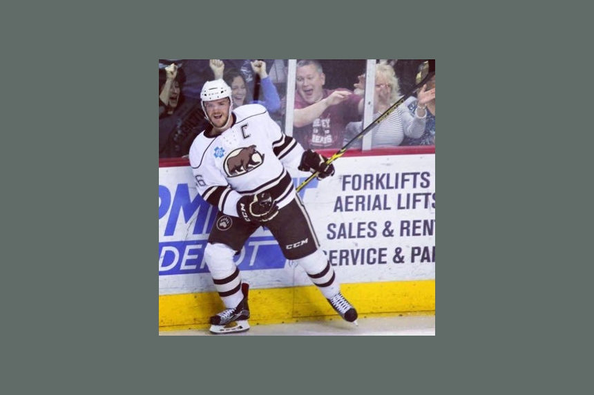 Regina's Garrett Mitchell 'in awe' during 1st NHL start