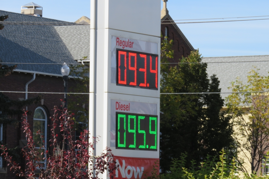 Short-term price spike expected at Sask. gas pumps