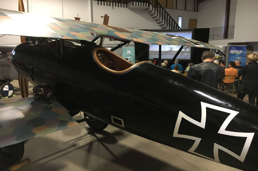 Vimy replica warplane tour flies into Saskatoon