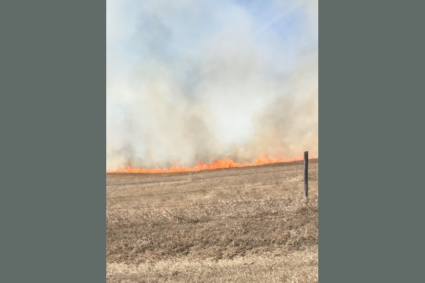 Grass fire season expects to be bad around Saskatoon