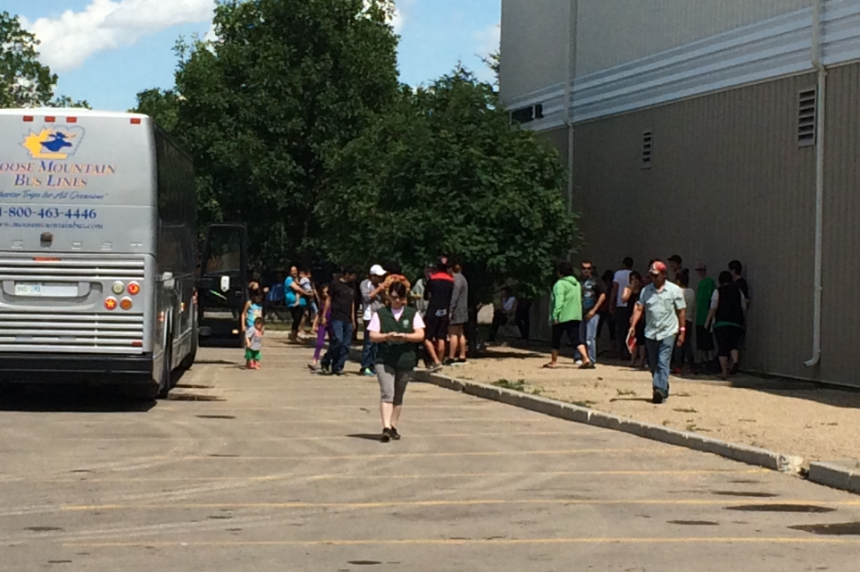 Evacuees have been in Saskatoon for more than a month