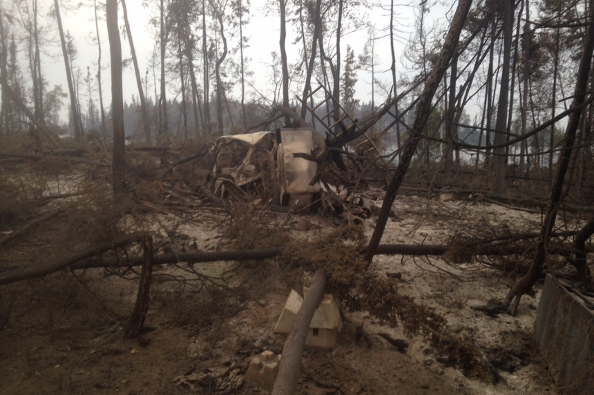 Vigilant neighbour saves vacant cabins from raging wildfires