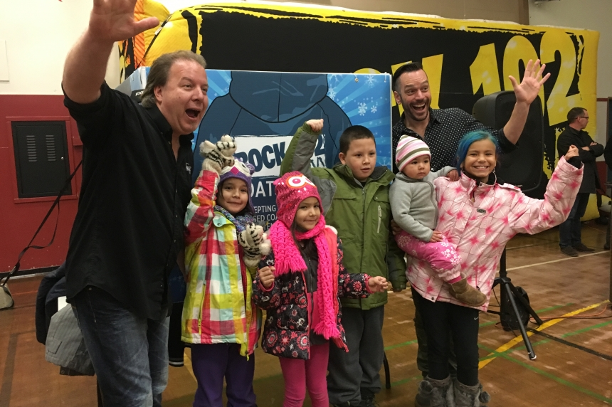 Hundreds of coats given to Saskatoon children in need