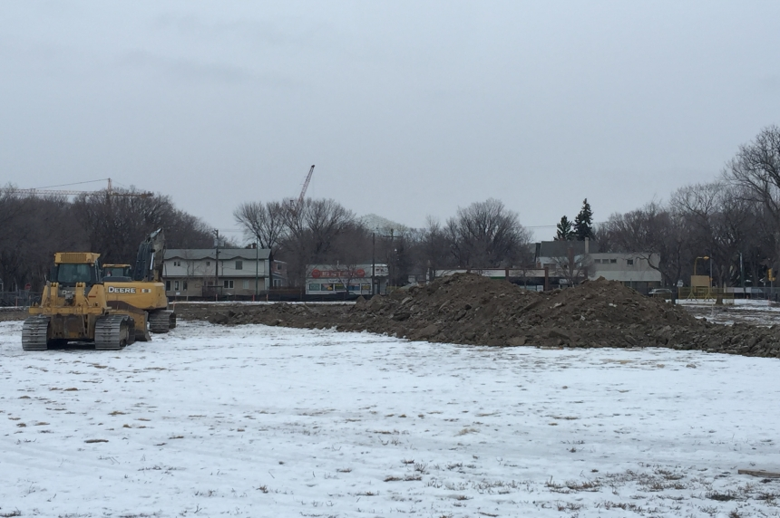 Land preparation begins for Regina's new Connaught school